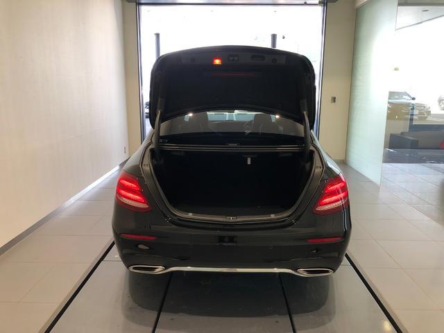 E200 アバンギャルド AMGライン レーダーセーフティパッケージ AMGスタイリングパッケージ 全周囲カメラ 黒革シート フルセグTV ナビ 19インチアルミホイール 正規ディーラー認定中古車 2年保証(26枚目)