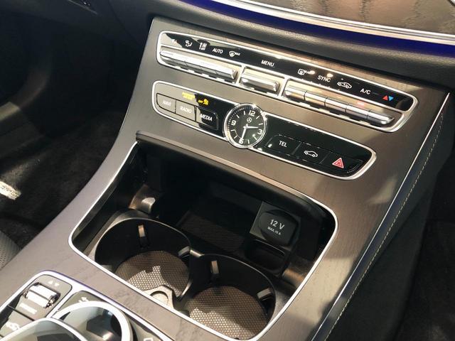 E400 4マチック クーペ スポーツ AMGスタイリングパッケージ エクスクルーシブパッケージ エアバランスパッケージ リラクゼーション機能 パノラミックスライディングルーフ Burmester 正規ディーラー認定中古車 2年保証(19枚目)