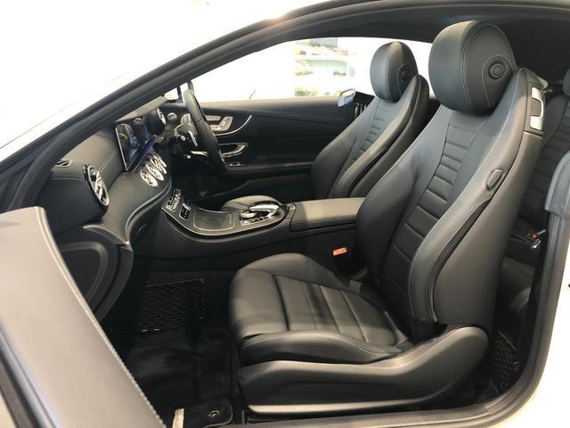 E400 4マチック クーペ スポーツ AMGスタイリングパッケージ エクスクルーシブパッケージ エアバランスパッケージ リラクゼーション機能 パノラミックスライディングルーフ Burmester 正規ディーラー認定中古車 2年保証(25枚目)