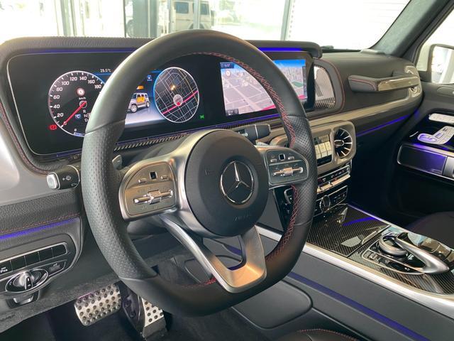G550 AMGライン レーダーセーフティパッケージ Burmester 全周囲カメラ ガラススライディングルーフ TV ナビ ETC 20インチアルミホイール 正規ディーラー認定中古車 2年保証(13枚目)