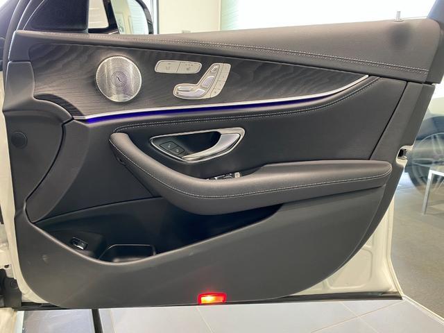 E200 4マチック アバンギャルド AMGライン レーダーセーフティパッケージ エクスクルーシブパッケージ Burmester エアバランスパッケージ TV ナビ ETC 19インチアルミホイール 正規ディーラー認定中古車 2年保証(10枚目)