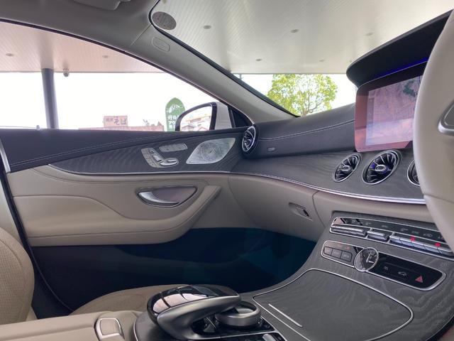 CLS450 4マチック スポーツ レーダーセーフティパッケージ エクスクルーシブパッケージ Burmester 白革 TV ナビ ETC 19インチアルミホイール 正規ディーラー認定中古車 2年保証(18枚目)