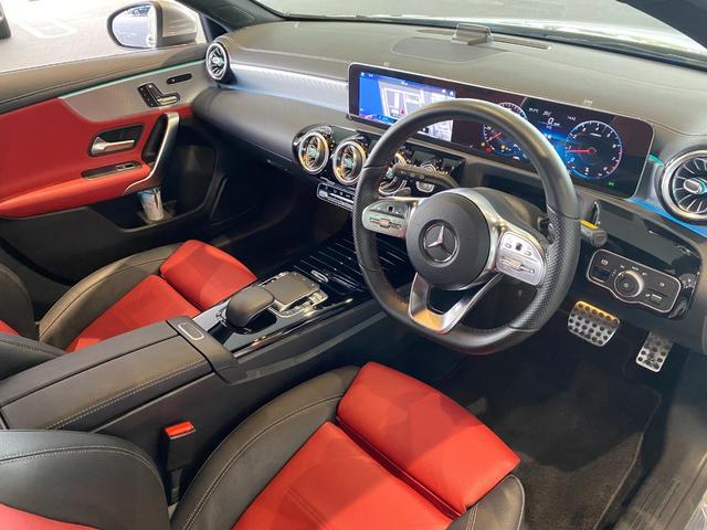 A180 スタイル AMGライン レーダーセーフティパッケージ ナビゲーションパッケージ AMGレザーエクスクルーシブパッケージ 赤黒ツイン革 TV ナビ ETC 18インチアルミホイール 正規ディーラー認定中古車 2年保証(12枚目)