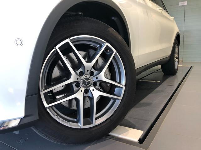 GLC220d 4マチックスポーツ レーダーセーフティパッケージ AMGスタイリングパッケージ 全周囲カメラ フルセグTV ナビ ETC 19インチアルミホイール 正規ディーラー認定中古車 2年保証(4枚目)