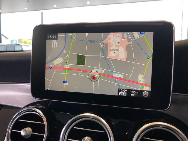 C180 ステーションワゴン ローレウスエディション レーダーセーフティパッケージ AMGスタイリングパッケージ パノラミックスライディングルーフ バックカメラ フルセグTV ナビ 18インチアルミホイール ETC 正規ディーラー認定中古車 2年保証(24枚目)