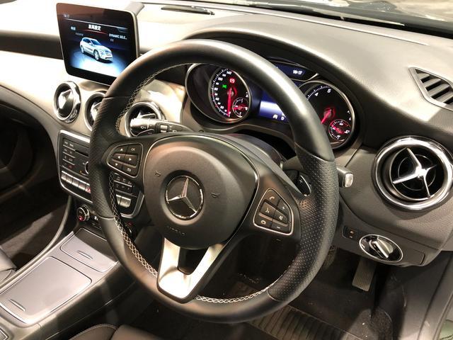 GLA220 4マチック レーダーセーフティパッケージ プレミアムパッケージ パノラミックスライディングルーフ harman/kardon 18インチアルミホイール TV ナビ ETC 正規ディーラー認定中古車 2年保証(12枚目)