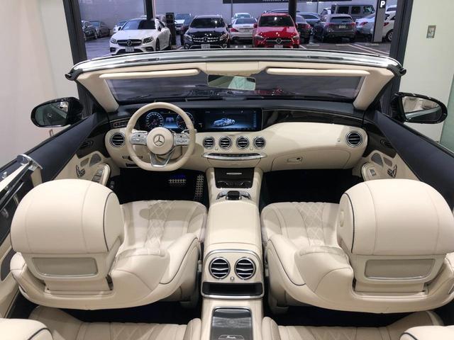 S560 カブリオレ レーダーセーフティパッケージ エアバランスパッケージ 本革 Burmesterハイエンド3Dサラウンドシステム TV ナビ ETC 20インチアルミホイール 正規ディーラー認定中古車 2年保証(18枚目)