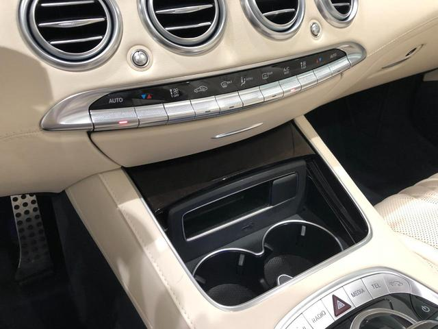 S560 カブリオレ レーダーセーフティパッケージ エアバランスパッケージ 本革 Burmesterハイエンド3Dサラウンドシステム TV ナビ ETC 20インチアルミホイール 正規ディーラー認定中古車 2年保証(26枚目)