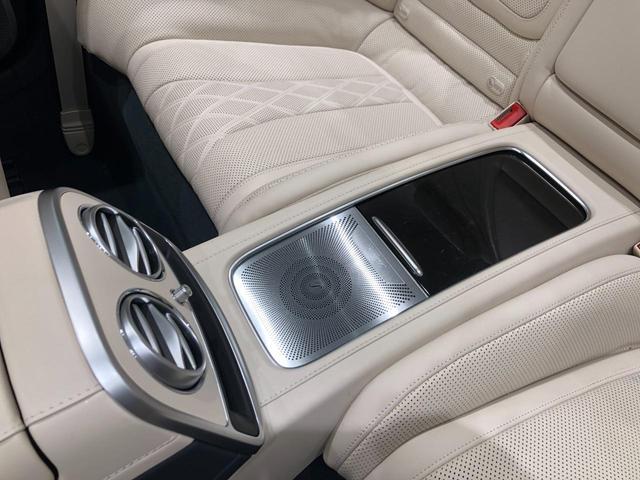 S560 カブリオレ レーダーセーフティパッケージ エアバランスパッケージ 本革 Burmesterハイエンド3Dサラウンドシステム TV ナビ ETC 20インチアルミホイール 正規ディーラー認定中古車 2年保証(35枚目)