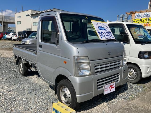 5速マニュアル車 4WD 軽トラ エアコン パワステ オーディオ(2枚目)