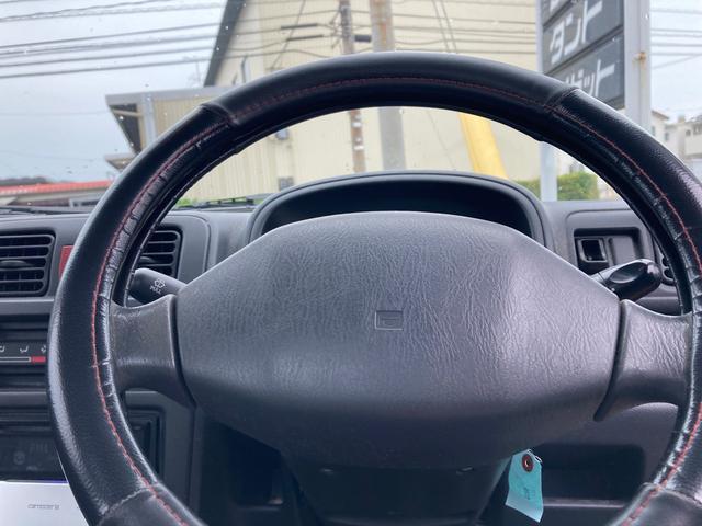 5速マニュアル車 4WD 軽トラ エアコン パワステ オーディオ(12枚目)