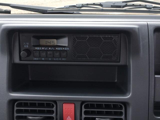 スズキ キャリイトラック 660 KC 届出済未使用車 5速MT 4WD