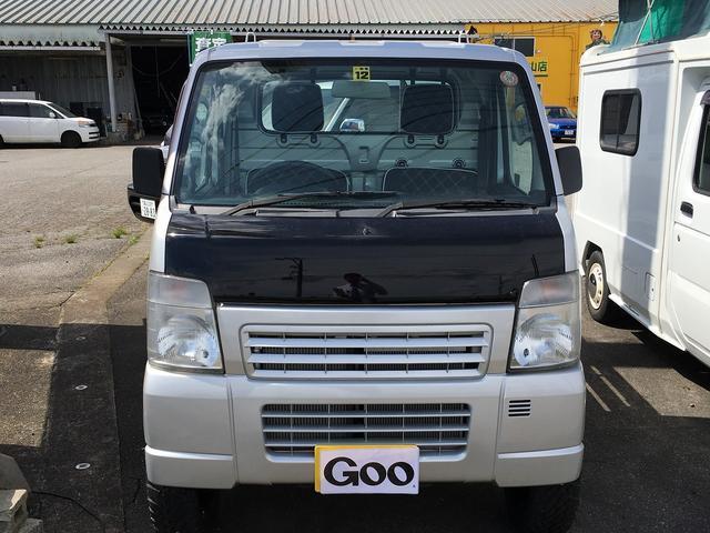 スズキ キャリイトラック KCエアコン・パワステ 三方開 4WD 5MT
