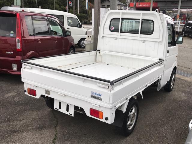 KC 4WD AC MT 軽トラック AW ホワイト PS(4枚目)
