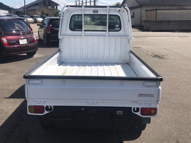 「スバル」「サンバートラック」「トラック」「富山県」の中古車5