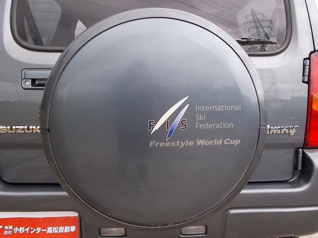 スズキ ジムニー 特別仕様車FISワールドカップ地デジフルHDDナビTVHID
