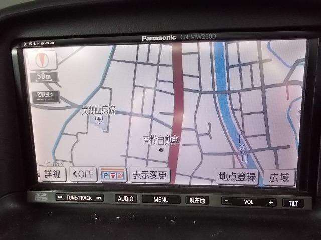 地デジフルセグナビTV(DVD再生)付き