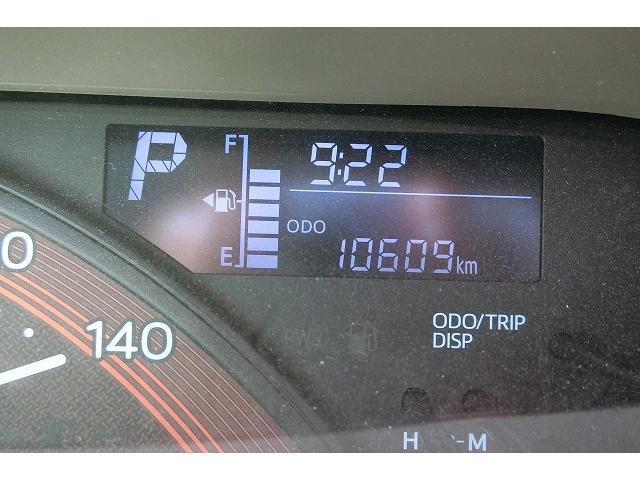 走行距離はほんの10609KM