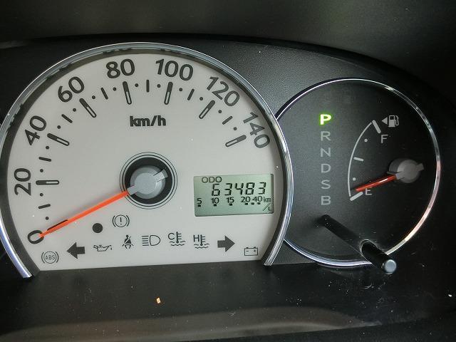 走行距離は63483KM