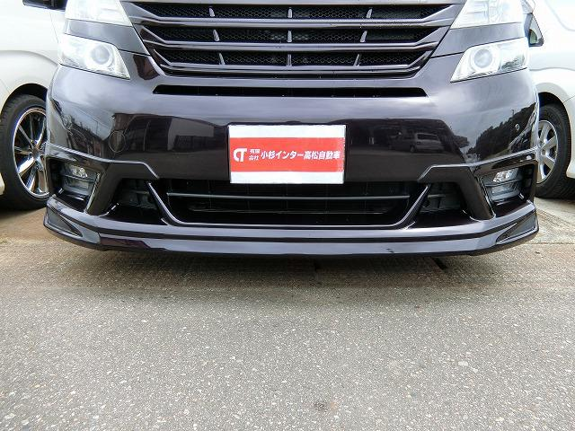 アドミレーションフロントスポイラー(¥58,800)付き