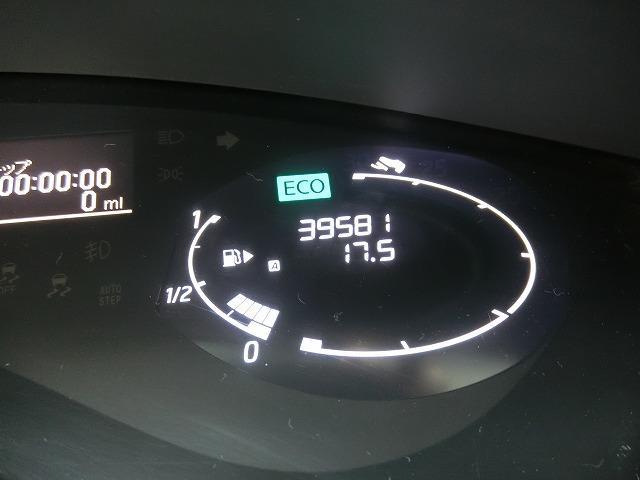 走行距離は39581KM