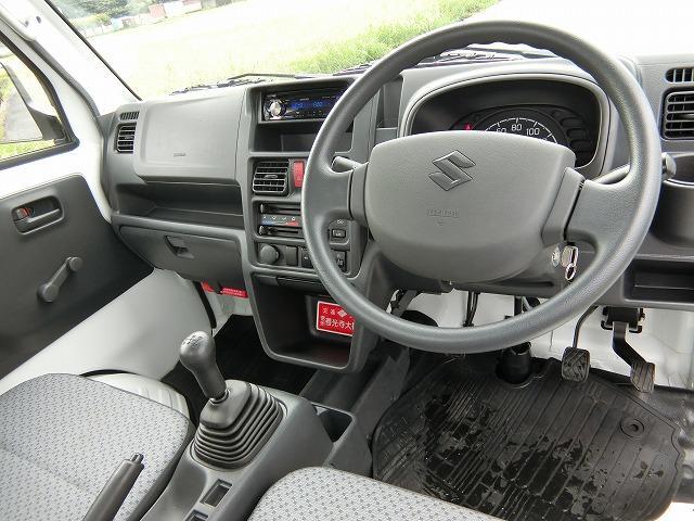 KCエアコン・パワステ 切替式4WD CDチューナー 三方開 走行1795KM(6枚目)