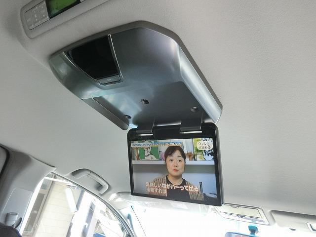 アルパイン製後席モニターで地デジやDVDをお楽しみ頂けます。