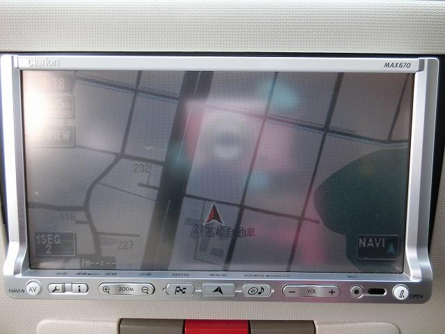 地デジHDDナビTV(DVD再生)付き