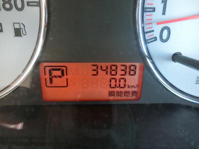 走行距離は34838K+M