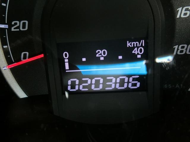 走行距離はほんの20306KM