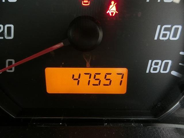 走行距離は47557KM