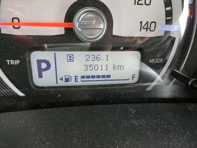 走行距離は35011KM