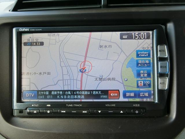 地デジフルセグナビTV(DVD再生、CD録音、Bluetooth対応)(¥236,400)付き