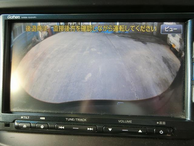 カラーバックカメラ(¥31,500)付き