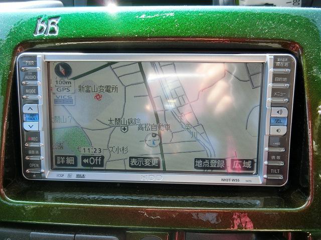 S Wiseセレクションナビスペシャル 社外ヘッドランプ LEDテールランプ 地デジフルセグHDDナビTV タイミングチェーン ベンチシート(8枚目)