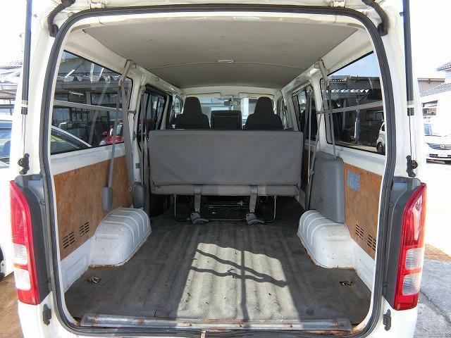 ロングDX 4WD ディーゼルターボ 地デジナビTV 4WD ディーゼルターボ 9人乗り 地デジナビTV 寒冷地仕様 タイミングベルト交換済み(18枚目)