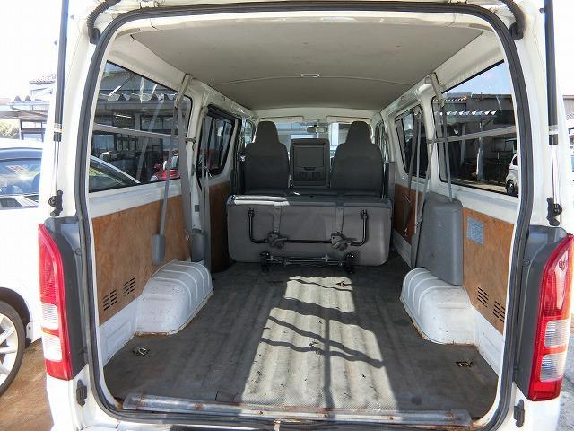 ロングDX 4WD ディーゼルターボ 地デジナビTV 4WD ディーゼルターボ 9人乗り 地デジナビTV 寒冷地仕様 タイミングベルト交換済み(19枚目)