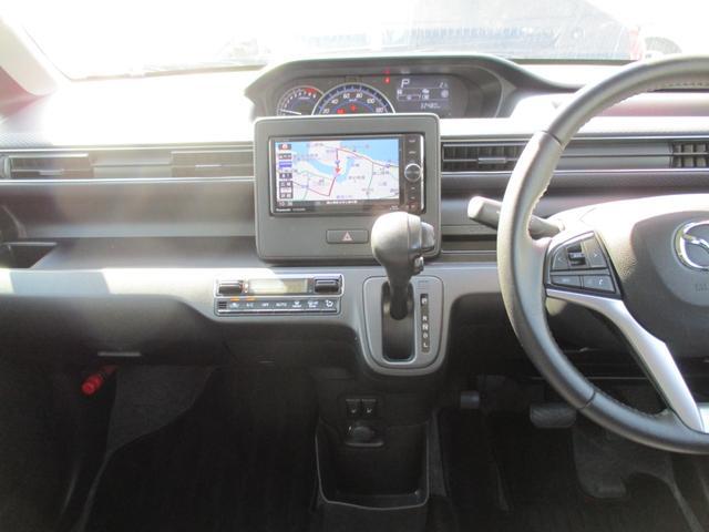 ハイブリッドXS ワンオーナー 4WD ナビTV バックカメラ レーダーブレーキ ヘッドアップディスプレイ 革巻きステアリング(13枚目)