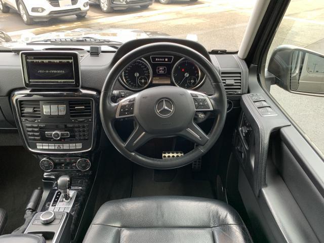 G350 ブルーテック 純正18インチAW  メモリー付パワーシート LEDヘッドライト 弊社ユーザー買取車(11枚目)