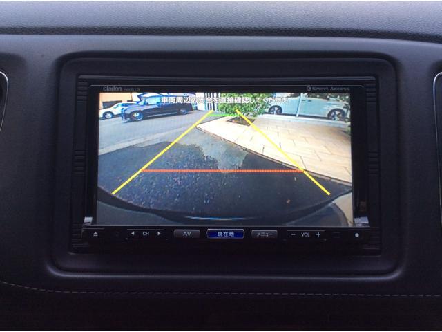 ハイブリッドX クルーズコントロール 衝突被害軽減ブレーキ クラリオンSDナビフルセグTV バックカメラ ETC スマートキー&プッシュスタート サイドエアバック 純正16インチAW(12枚目)