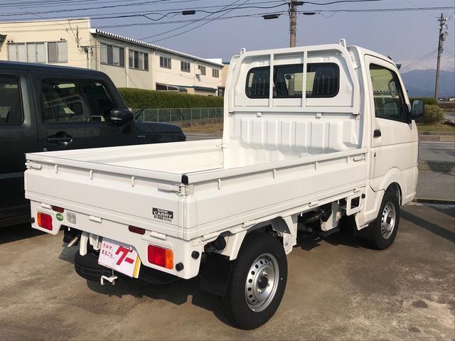 4WD AC AT 軽トラック 2名乗り ホワイト(4枚目)