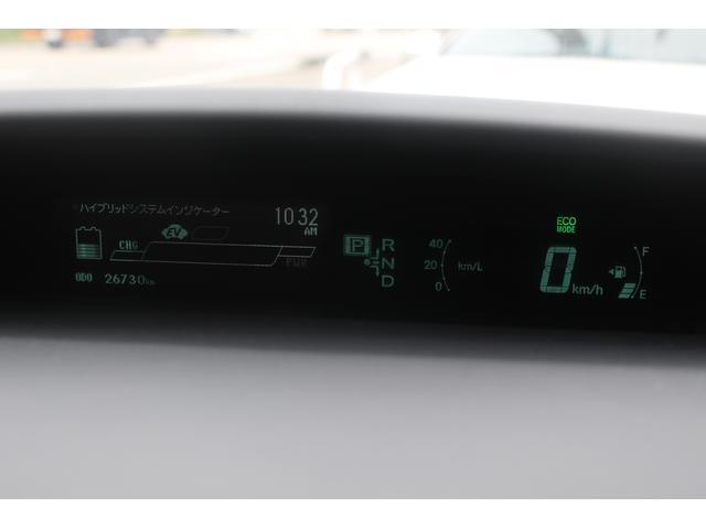 トヨタ プリウスPHV G HDDナビTV プリクラッシュ ハーフレザーシート