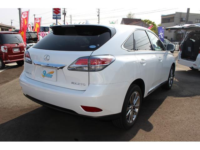「レクサス」「RX」「SUV・クロカン」「富山県」の中古車4