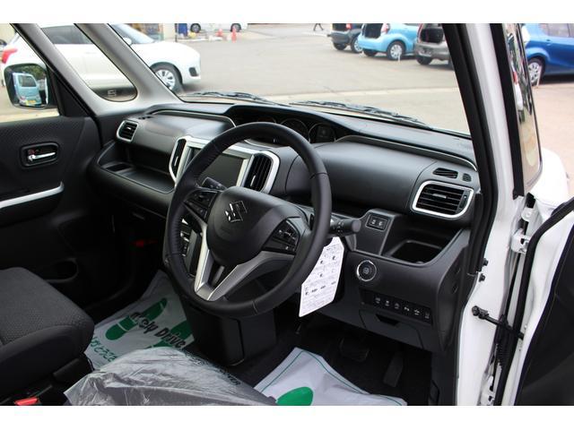 ハイブリッドMZ 登録済未使用車 4WD ブレーキサポートレーンアシスト 盗難防止システム 両側電動スライドドア キーフリーシステム アイドリングSTOP クリアランスソナー オートライト パドルシフト シートヒーター(8枚目)