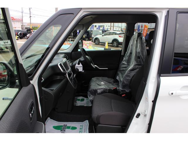ハイブリッドMZ 登録済未使用車 4WD ブレーキサポートレーンアシスト 盗難防止システム 両側電動スライドドア キーフリーシステム アイドリングSTOP クリアランスソナー オートライト パドルシフト シートヒーター(11枚目)