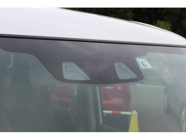 ハイブリッドMZ 登録済未使用車 4WD ブレーキサポートレーンアシスト 盗難防止システム 両側電動スライドドア キーフリーシステム アイドリングSTOP クリアランスソナー オートライト パドルシフト シートヒーター(23枚目)