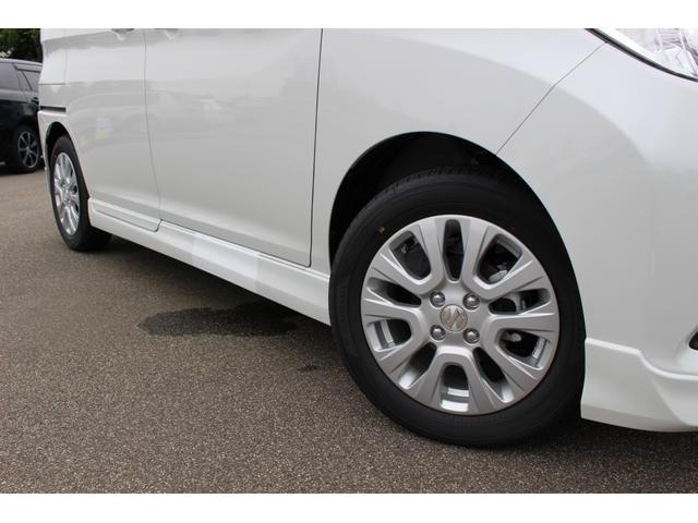 ハイブリッドMZ 登録済未使用車 4WD ブレーキサポートレーンアシスト 盗難防止システム 両側電動スライドドア キーフリーシステム アイドリングSTOP クリアランスソナー オートライト パドルシフト シートヒーター(25枚目)