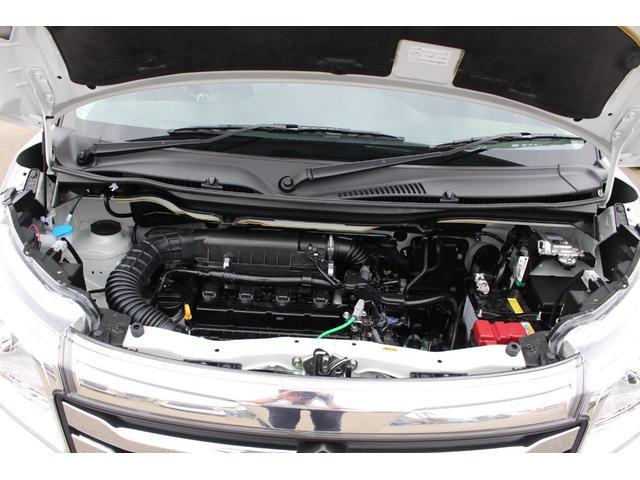 ハイブリッドMZ 登録済未使用車 4WD ブレーキサポートレーンアシスト 盗難防止システム 両側電動スライドドア キーフリーシステム アイドリングSTOP クリアランスソナー オートライト パドルシフト シートヒーター(27枚目)
