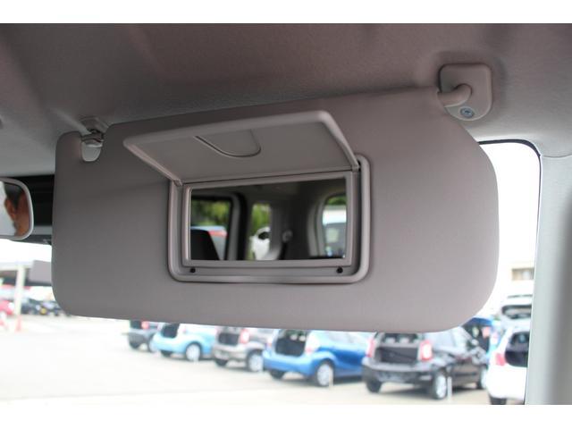 ハイブリッドMZ 登録済未使用車 4WD ブレーキサポートレーンアシスト 盗難防止システム 両側電動スライドドア キーフリーシステム アイドリングSTOP クリアランスソナー オートライト パドルシフト シートヒーター(46枚目)