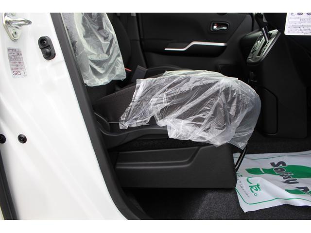 ハイブリッドMZ 登録済未使用車 4WD ブレーキサポートレーンアシスト 盗難防止システム 両側電動スライドドア キーフリーシステム アイドリングSTOP クリアランスソナー オートライト パドルシフト シートヒーター(49枚目)